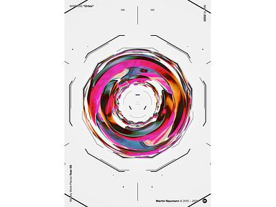 "WWP°249 ""Ortex"" geometric illustration wwp generative filter forge abstract art design"