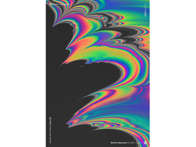 """WWP°254 """"Contrast"""" wave distortion illustration colors wwp generative filter forge abstract art design"""