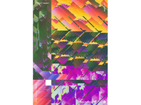 """WWP°256 """"shutter glitch pattern illustration colors wwp generative filter forge abstract art design"""