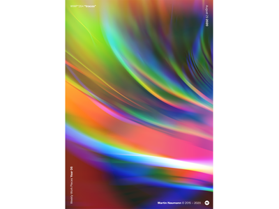 """WWP°264 """"traces"""" colorful light refraction prism chromatic chromatic aberration illustration colors wwp generative filter forge abstract art design"""