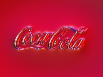 36 logos - Coca Cola red rebranding rebrand logodesign coke cocacola logotype logo design logo branding 36daysoftype typography illustration colors generative filter forge abstract art design