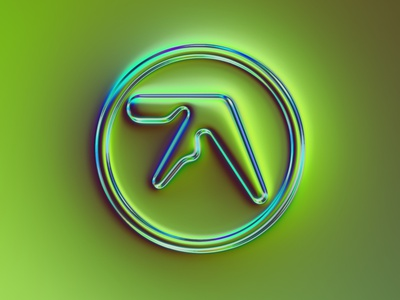 36 logo - Aphex Twin aphex twin mark branding design brand rebranding rebrand logo design logotype logo branding 36daysoftype illustration colors generative filter forge abstract art design