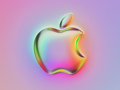 36 logos - Apple logo design mark brand rebrand rebranding apple logo branding illustration colors generative filter forge abstract art design