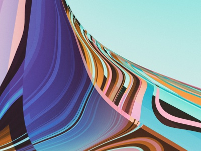 PHASE XII (details) illustration colors generative filter forge abstract art design