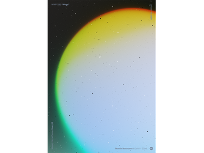 "WWP°232 ""Wega"" illustration colors wwp generative filter forge abstract art design"