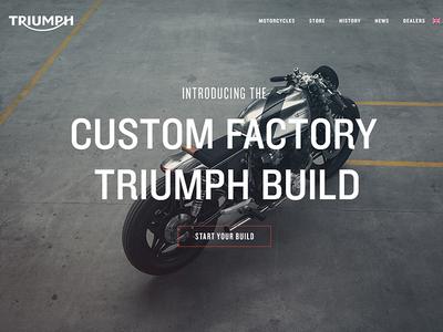 Triumph Motorcycle's Website