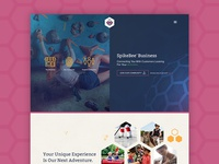 SpikeBee Business Landing Page