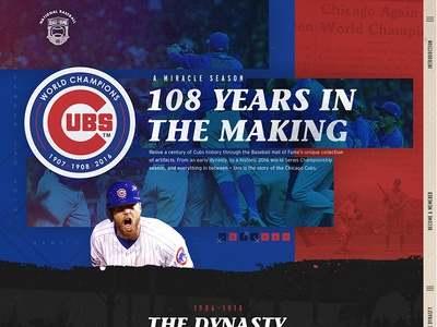 Baseball Hall of Fame - Cubs Interactive Exhibition Series