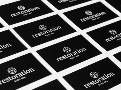 Business Cards | Restoration Body Spa