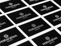 Business Cards | Restoration Body Spa
