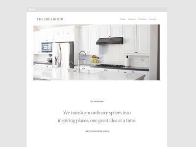 The Idea Room | Website