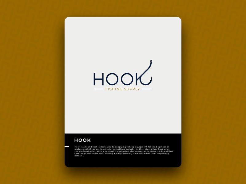 HOOK logo icon design brand