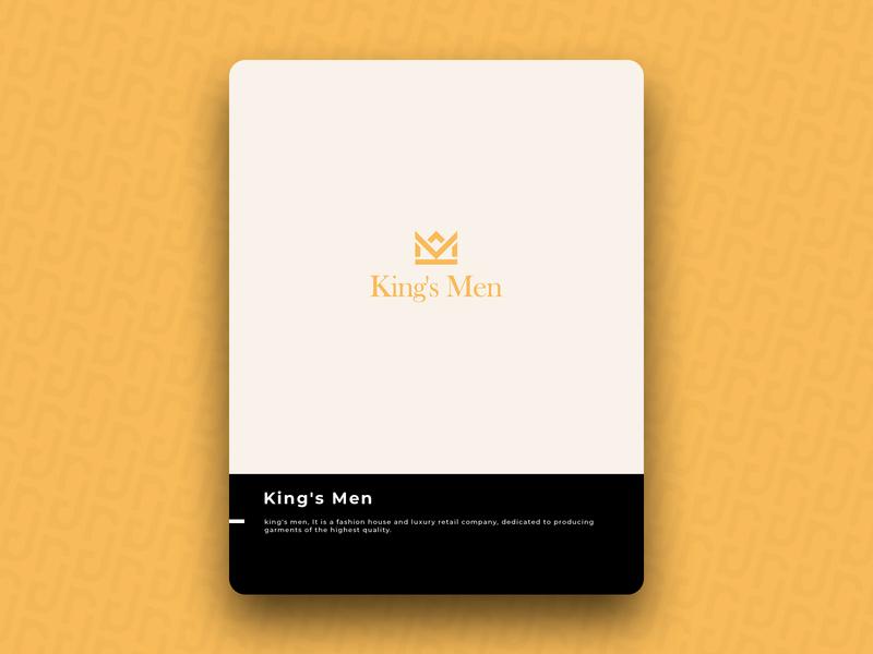 King's Men logo icon design brand