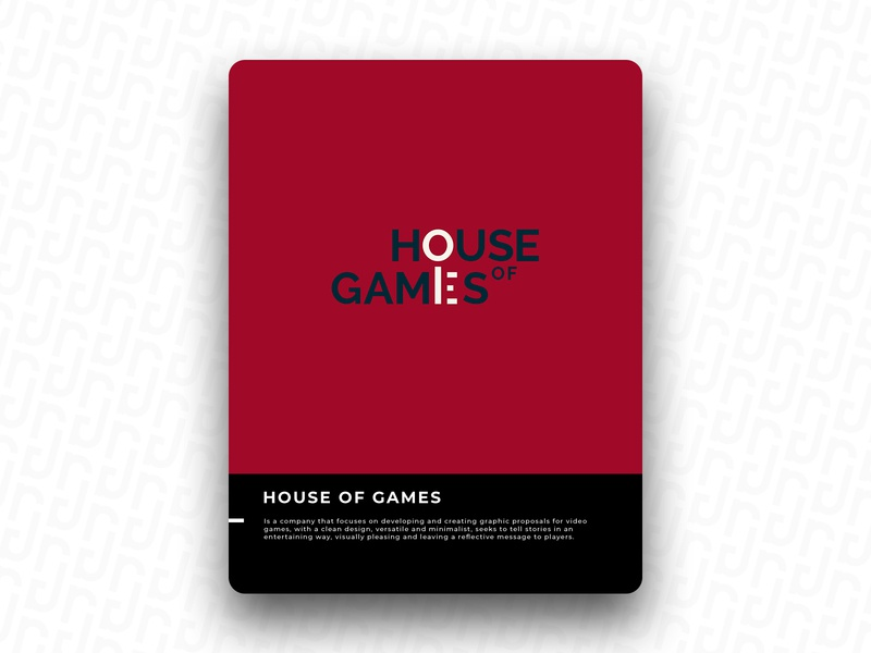 HOUSE OF GAMES logo icon design brand