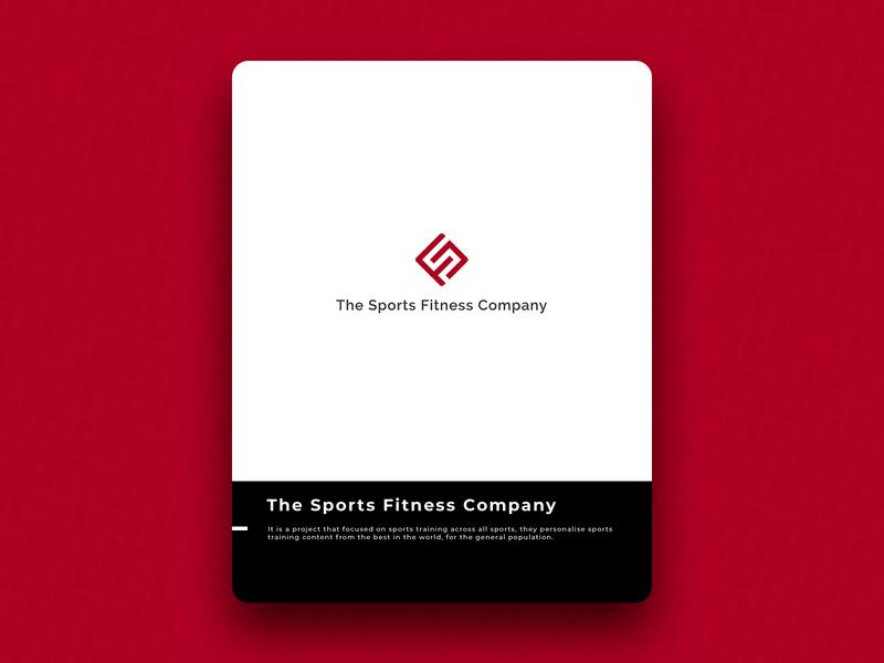 The Sports Fitness Company logo icon design brand