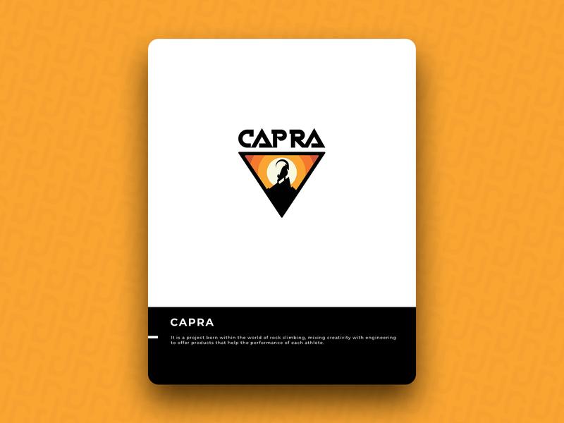 CAPRA logo icon design brand