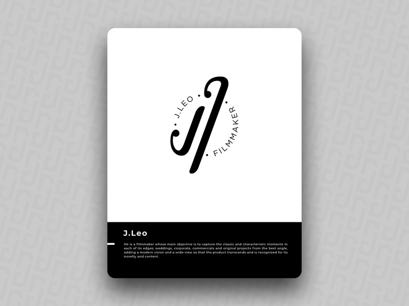 J.Leo logo icon design brand