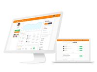 Currency Web Platform Screens