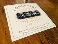 #FranklinTN Ambassador Pin