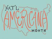 National Americana Month