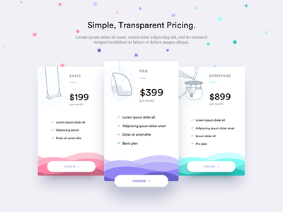 Data & Machine Learning Pricing page price pricing illustration shuttle ui ux machine learning data website plans subscription