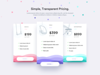 Data & Machine Learning Pricing page