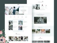 Brides: Wedding Landing Page