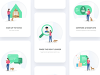 Taygo Onboarding Illustrations