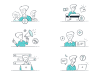 Web App Onboarding Illustrations