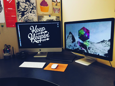 Everyone loves a workspace shot