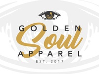 Golden Soul Apparel // Logo Design