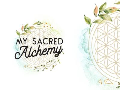 My Sacred Alchemy // Logo Design