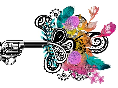 Paisley Pistol // Logo Details