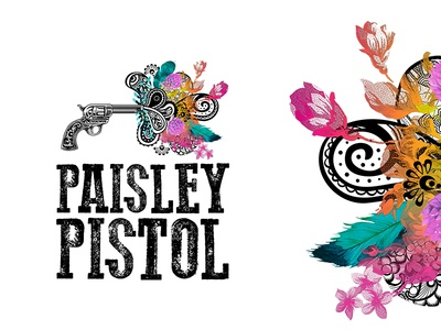 Paisley Pistol // Logo Design