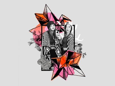 Cosmic Crystals Collage // Abby