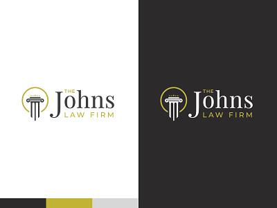 Law Firm - Logo Design design logo lawyer logomark brand identity branding law firm