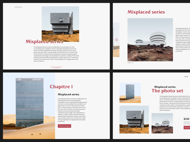 Misplaced Series - Web Composition art interface ui design compoisition web misplaced series ui
