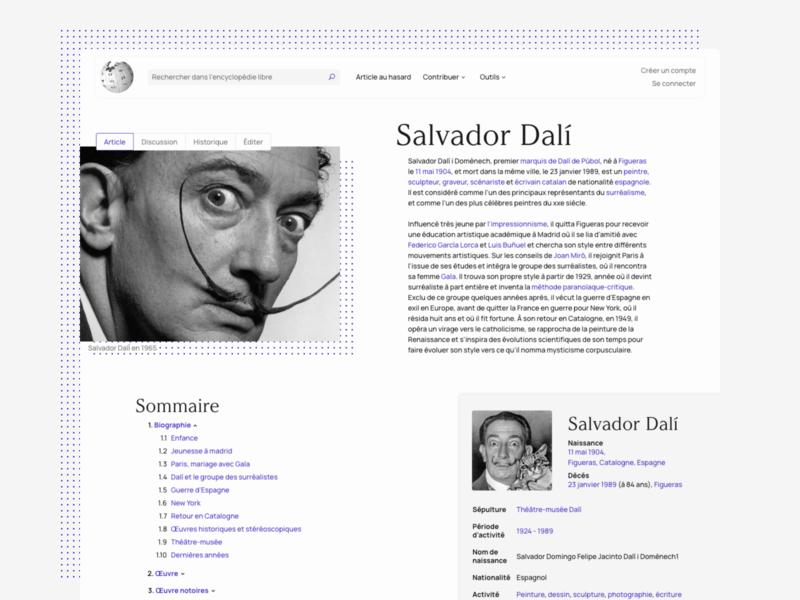 Wikipedia Salvador Dali - Redesign artist redesign dali salvador wikipedia