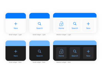 Sésame - iOS14 brand new widgets shortcuts apple manager password widget ios14