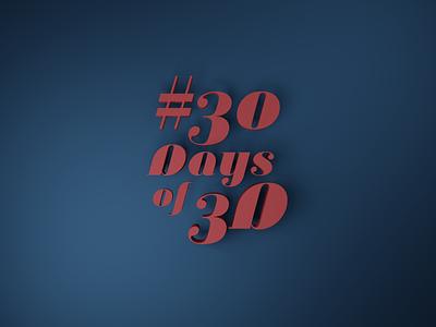 #30DaysOf3D challenge - Retrospective texturing blender modeling 30 days rendering 3d challenge