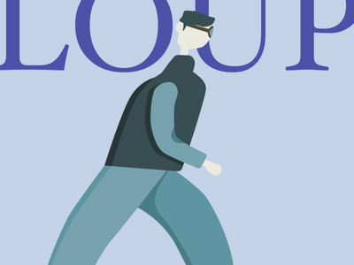 J6 Loup - #30DaysOfCharacterIllustration character design daily day j6 loup ipad illustrator illustration character