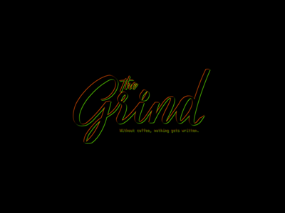 The Grind Black - #ThirtyLogos 2