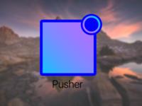 Pusher - #ThirtyLogos 30