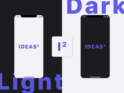 Squared ideas - Launch Screen and app icon concept