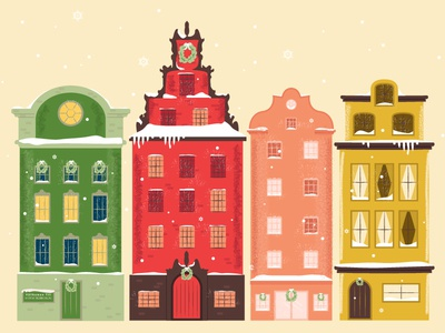 Hello, Stockholm! vector texture brush city europe stockholm illustrator illustration