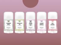 Natural Deodorant Packaging