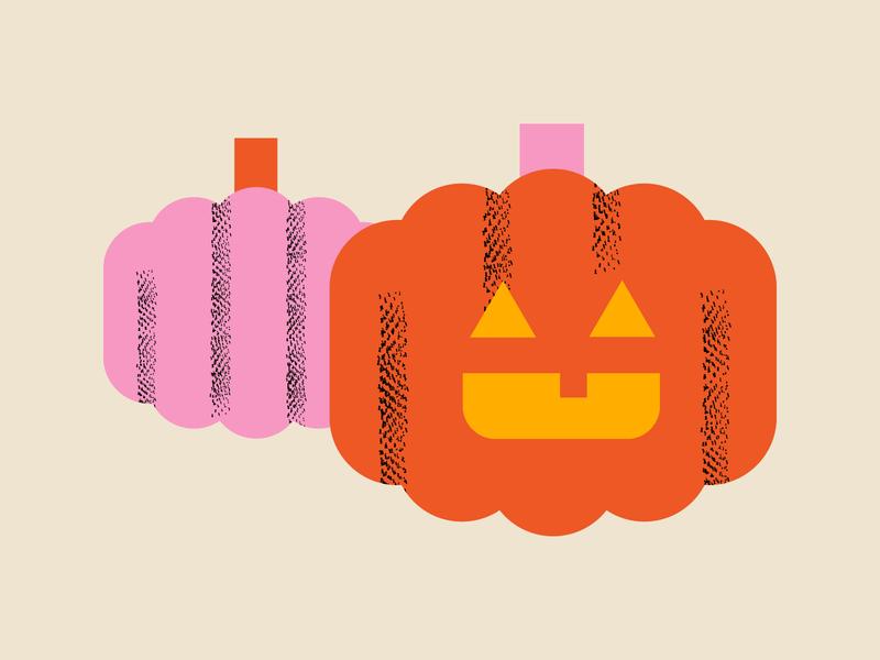 Hey, Pumpkin! halloween party spooky jack-o-lantern pumpkin october halloween texture design vector illustrator illustration