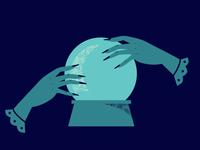 I See Adobe Crashes In Your Future future halloween spooky vector illustrator illustration