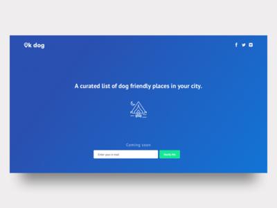 Ok Dog - Web App