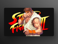 Street Fighter – WIP xd webpage web ux ui landing page gaming photoshop app adobexd adobe